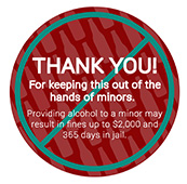 #NOT in my House Sticker Shock – Thank You! (Red)