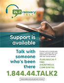 Recovery Talk Poster