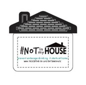 #NOT in my House Chip Clip Design