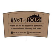 #NOT in my House Coffee Sleeve