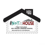 #NOT in my House Magnet