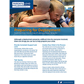 Preparing for Deployment - Parents Lead for Professionals