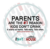 #NOT in my House Sticker Shock – Parents