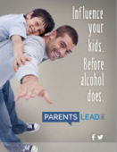 Parents LEAD, underage drinking, resource for parents